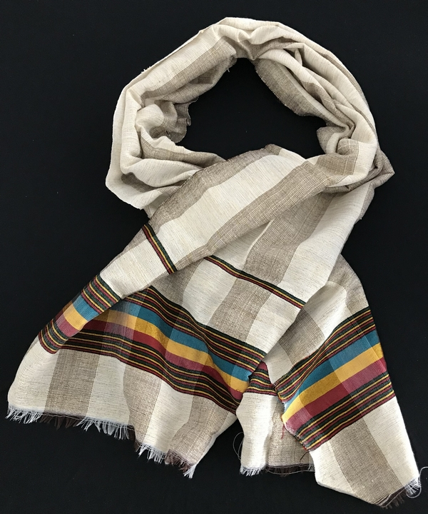 Ethiopian Traditional Scarf 100% cotton Rasta colors